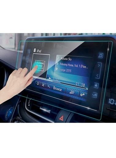Techmaster Toyota C-HR 2018-2020 Navigasyon Temperli Ekran Koruyucu Renkli